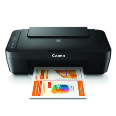 Canon Printer MultiFungsi Print Scan Copy MG2570s - Hitam