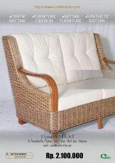 Cantik Rattan - Furniture Sofa Cuci Gudang Kualitas Export - Khusus Pulau Jawa