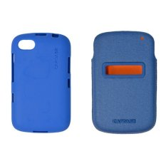 Capdase Id Pocket Value Set Xpose + Posh XL For Blackberry Samoa 9720 - Biru