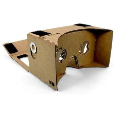 Beli Cardboard Virtual Reality For Smartphone Black Magnet Murah Jawa Tengah