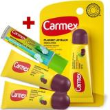 Review Pada Carmex Classic Lip Balm Cherry Tube Spf 15 3Pcs Daily Care Lip Balm Winter Mint Stick Spf 15 1Pc