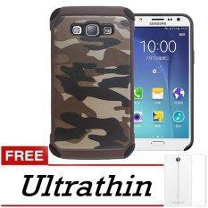 Spesifikasi Case Army Protection Case For Samsung Galaxy J510 J5 2016 Free Ultrathin Brown Army Terbaik