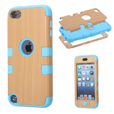 Case untuk Apple IPod Touch 5 Hybrid Body Armor Back Case-Biru