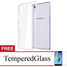 Dapatkan Segera Case For Lenovo S60 Clear Gratis Tempered Glass Ultra Thin Soft Case