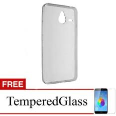 Case for Nokia Lumia 930 - Clear + Gratis Tempered Glass - Ultra Thin Soft Case
