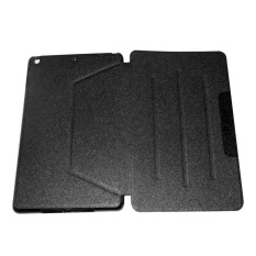 Case Leather Case Tablet For iPad Air / iPad 5 Leather Flipshell Stand Smart Case Cover/ Sarung Pelindung Tablet - Hitam
