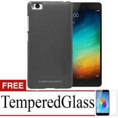 Case Nilkin Hard Protective For Xiaomi Mi4i + Free TemperredGlass - Black
