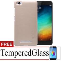 Case Nilkin Hard Protective For Xiaomi Mi4i + Free TemperredGlass - Gold
