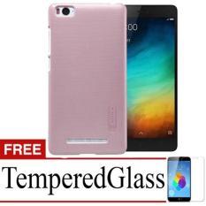 Case Nilkin Hard Protective For Xiaomi Mi4i + Free TemperredGlass - Rose Gold