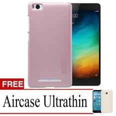 Case Nilkin Hard Protective For Xiaomi Mi4i + Free Ultrathin - Rose Gold