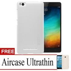 Case Nilkin Hard Protective For Xiaomi Mi4i + Free Ultrathin - White