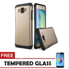 Ulasan Lengkap Case Samsung Galaxy J7 2016 Slim Armor Gold Tempered Glass