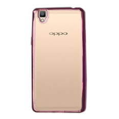 Case Ultrathin Shining Chrome Untuk Oppo Neo 9 / A37 - Rose Gold