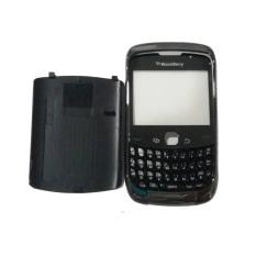Casing Depan Belakang BlackBerry Gemini Curve 3G 9300 - Hitam