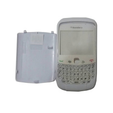 Casing Depan Belakang BlackBerry Gemini Curve 3G 9300 - Putih