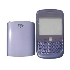 Casing Depan Belakang BlackBerry Gemini Curve 8520 - Ungu