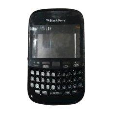 Casing Fullset BlackBerry Davis Curve 9220 - Hitam