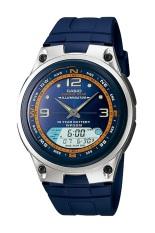 Harga Casio Analog Digital Fishing Gear Watch Aw 82H 2Avdf Jam Tangan Pria Karet Biru Yang Murah Dan Bagus
