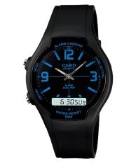 Tips Beli Casio Analog Digital Watch Aw 90H 2Bvdf Jam Tangan Unisex Karet Hitam