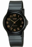 Beli Barang Casio Analog Watch Jam Tangan Unisex Hitam Strap Karet Mq24 1B2Ldf Online