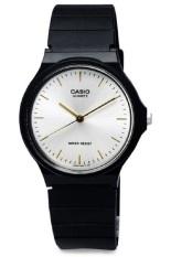 Casio Analog Watch Jam Tangan Unisex Hitam Strap Karet Mq24 7E2Ldf Diskon Akhir Tahun