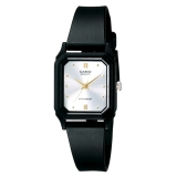 Review Toko Casio Analog Watch Jam Tangan Wanita Hitam Tali Karet Petite Size Lq 142E 7Adf Online