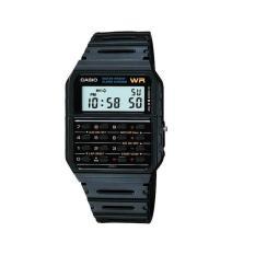Toko Casio Calculator Watch Jam Tangan Unisex Strap Karet Hitam Ca Online Di Banten