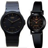 Beli Casio Couple Watch Jam Tangan Couple Hitam Strap Karet Sporty Couple Kredit