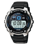 Casio Digital Watch Ae 2000W 1Avdf Jam Tangan Pria Resin Hitam Casio Diskon 40