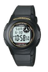 Beli Casio Digital Watch F 200W 9Adf Unisex Watch Karet Hitam Nyicil
