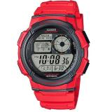 Jual Casio Digital Watch Jam Tangan Pria Merah Resin Ae 1000W 4Avdf