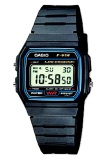 Casio Digital Watch Jam Tangan Unisex Hitam Resin Strap F 91W 1Dg Casio Diskon 50