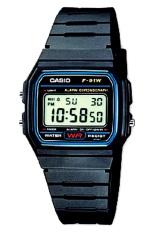 Ulasan Lengkap Casio Digital Watch Jam Tangan Unisex Hitam Resin Strap F 91W 1Dg
