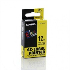 Toko Casio Ez Label Tape Xr 12 Kuning Online Terpercaya