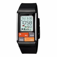 Casio Poptone LDF-50-1 - Jam Tangan wanita - Black - Strap Resin