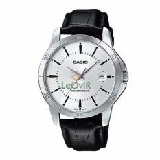 Diskon Casio Standard Mtp V004L 7A Jam Tangan Pria Black Strap Leather Casio Indonesia