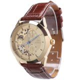 Spesifikasi Casual Leather Automatic Mechanical Sport Wrist Watch 000050 Brown Oem Terbaru
