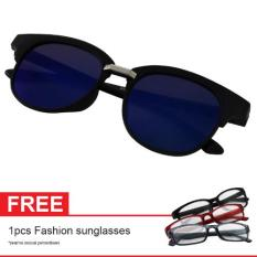 Cat Eye Retro Sunglasses Mn5007 Green Mercury Asli