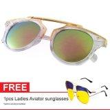 Kualitas Cat Eye Sunglasses Ct Mn5005 Pink Mercury Free Aviator Sunglasses Kacamata Wanita Oem