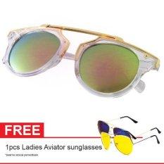 Jual Cat Eye Sunglasses Ct Mn5005 Pink Mercury Free Aviator Sunglasses Kacamata Wanita Ori