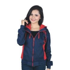Beli Catenzo Jaket Wanita Scarlet Harmony Nu 069 Navy Kredit Indonesia