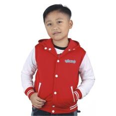 Promo Catenzo Junior Jaket Anak Fedrix Cyi 006 Merah Catenzo Junior