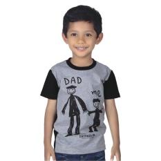 Jual Beli Catenzo Junior Kaos Anak Dad And Me Cps 010 Abu Jawa Barat