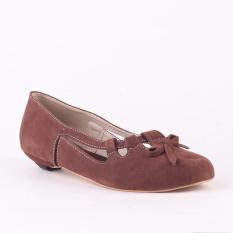 Jual Catenzo Sepatu Flat Tulip Rt 149 Coklat Grosir