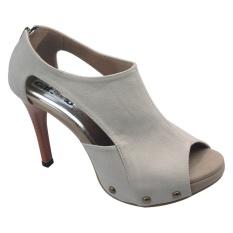 Harga Catenzo Sepatu Heels Lanna Paelin Km 035 Krem Baru Murah