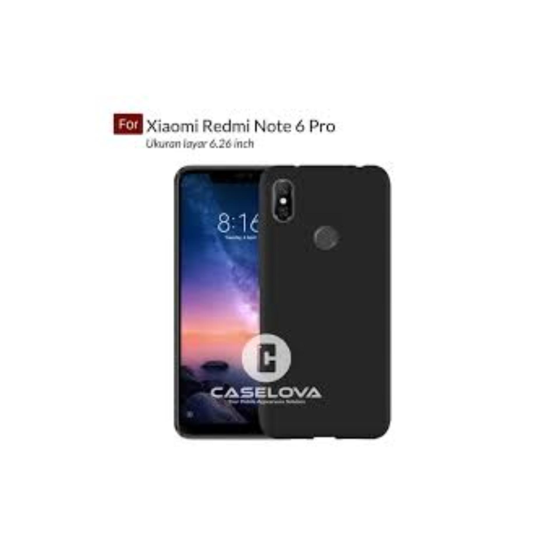 ULYBAE UltraSlim Black Matte Hybrid Case for Xiaomi Redmi Note 6 - Black -  JUAL CASE MATTE Termurah - Terlaris Jakarta