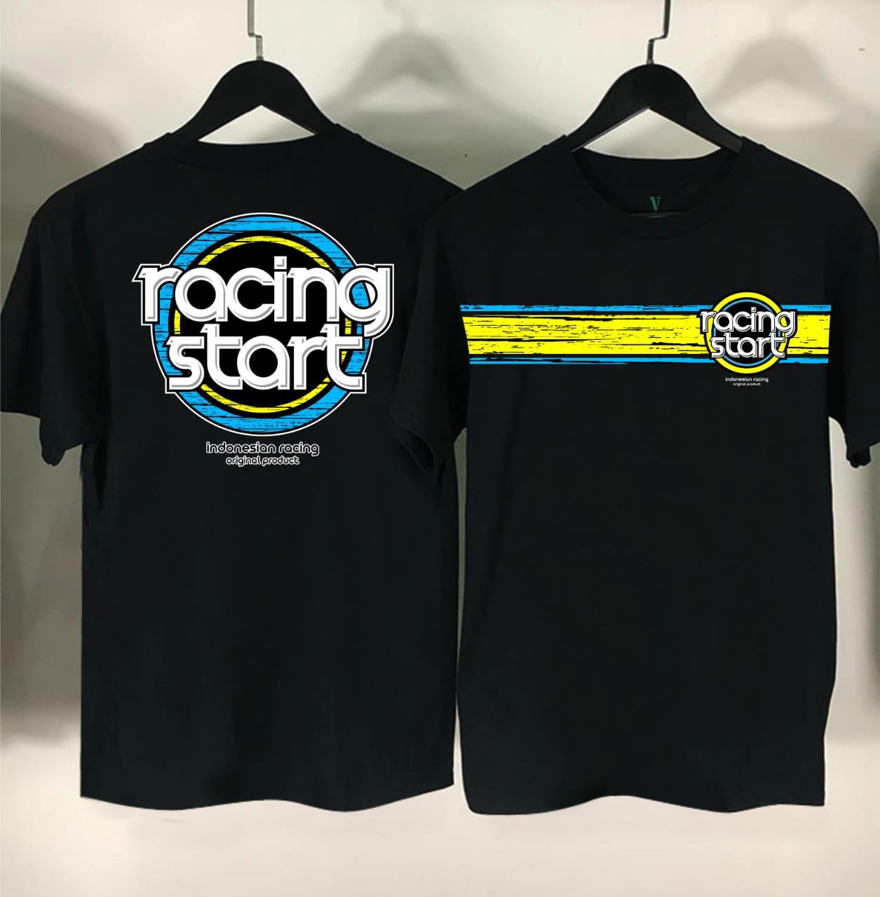 D Blabo Store Kaos Racingstart Indonesia Kaos Balap Kaos Racing Kaos Motor Kaos Pria Distro Baju Distro Lazada Indonesia