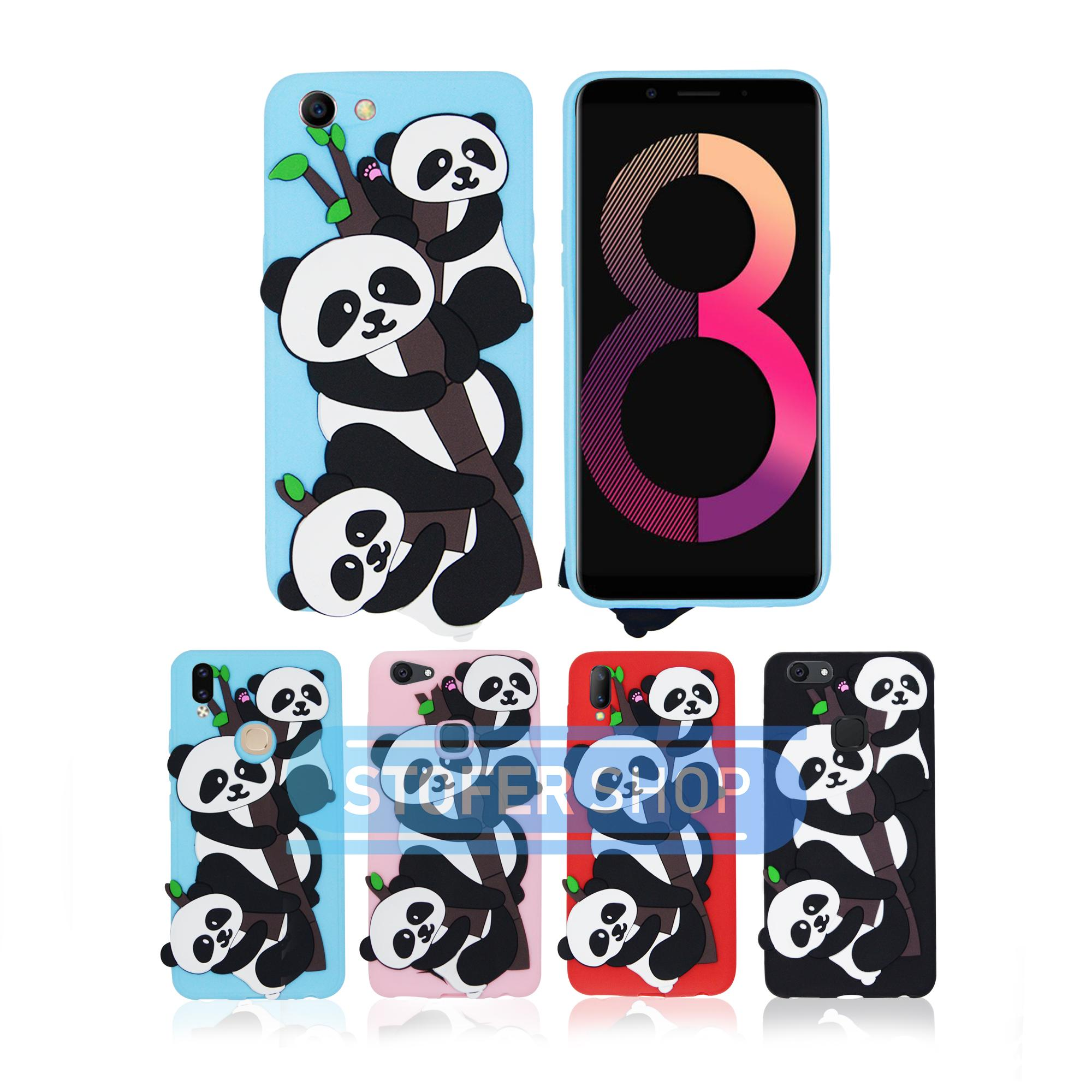 Rp 20.000. Case Boneka PANDA Oppo A83 Casing Karakter / Softcase/ Silicon / 3D / 4D Lucu Character CartoonIDR20000