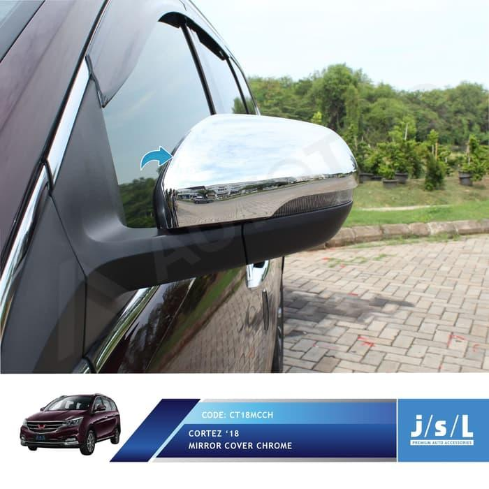JSL Cover Kaca Spion Wuling Cortez Krom Mirror Cover Ch