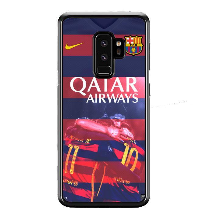 Casing For Samsung Galaxy S9 Plus Barcelona Qatar Airways Football Club Team L1979